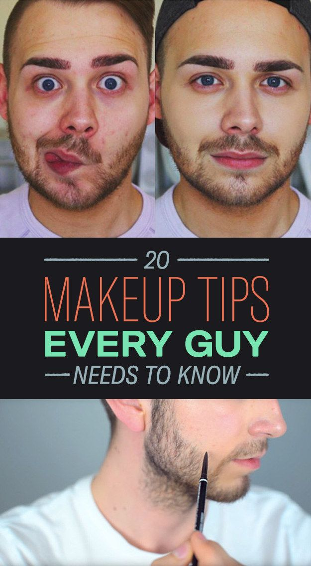 Fellas, it's time to brush up on your makeup skills!