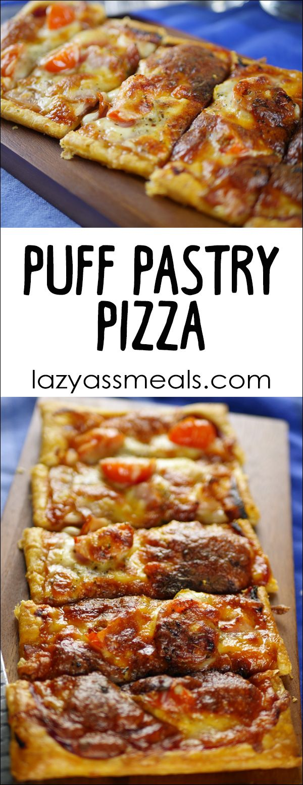 Puff Pastry Pizza & 2 Amazing Topping Combinations!