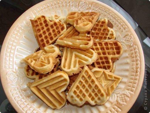 Кулинария Рецепт кулинарный Печенье вафельное на спец сковороде Продукты пищевые