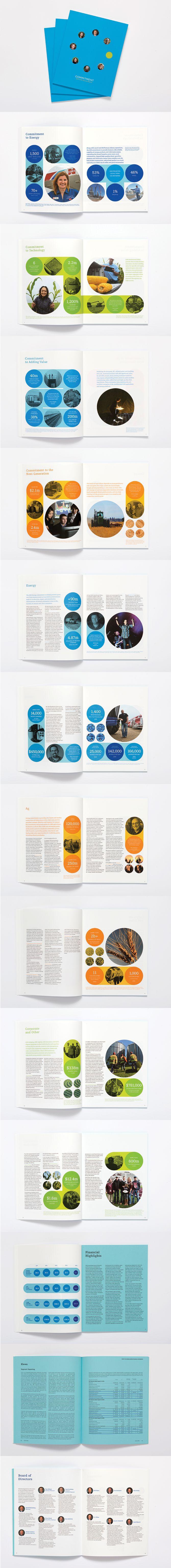 2015 CHS Annual Report - Design Portfolio of Erik Herberg