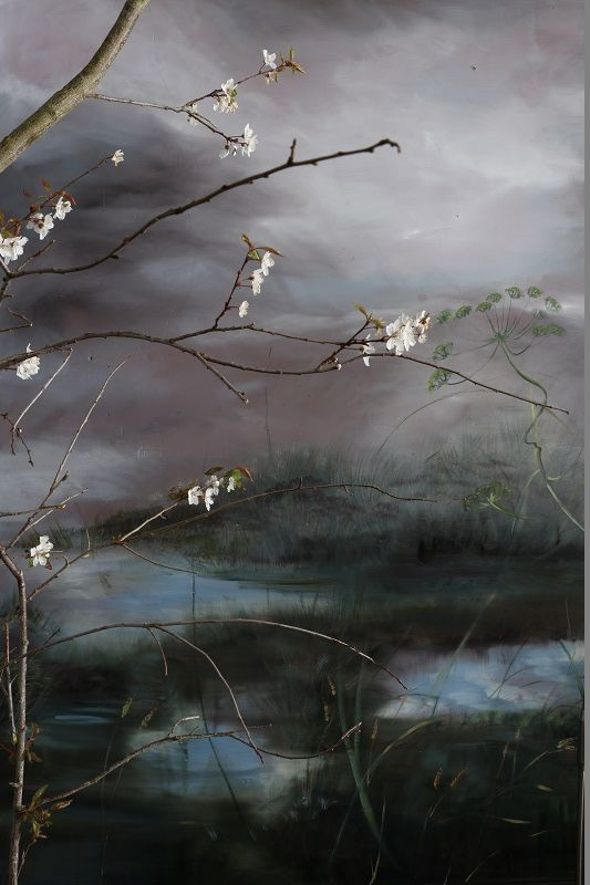 OIL ON CANVAS, OIL ON PAPER, DRAWINGS, BARBOTINE ON EARTHENWARE AND MURALS, CLAIRE BASLER