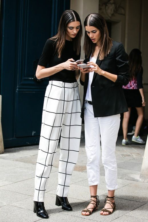 2 Office-Ready Black And White Outfits | Le Fashion | Bloglovin'