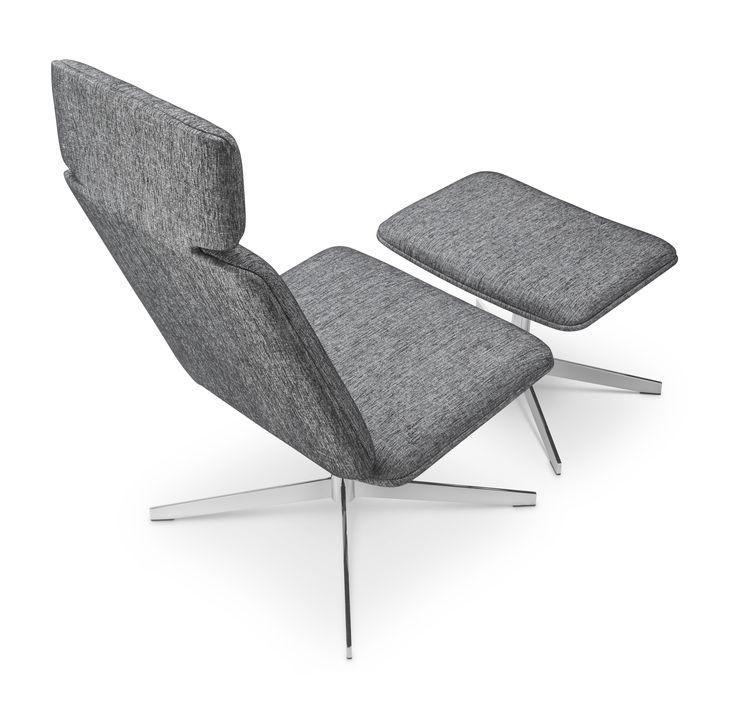 ON-tuoli on palkittu kansainvälisilläkin palkinnoilla – Good Design Award - ja Interior Innovation Award –palkinnoilla. Suunnittelija: Tapio Anttila.  #habitare2015 #design #sisustus #messut #helsinki #messukeskus #tapioanttila #pedro #furnituredesign #lounge #finnishdesign