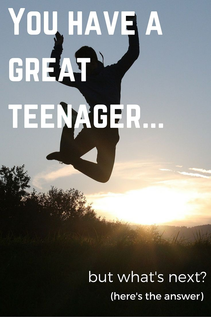 You have done a fantastic job getting your kid to be a great teenager... but you may not know how to get them successfully into adulthood.  http://www.mirador.global/  We have you covered!
