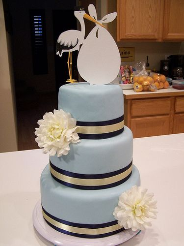 Stork Cake by AllysonJane, via Flickr