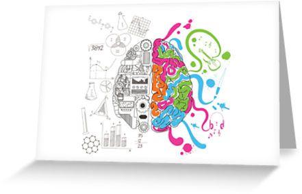 Brain Creativity Illustration by Gordon White   Creative Brain Chemistry Greeting Card Available @redbubble @redbubblecreate  ---------------------------  #redbubble #sticker #brain #creative #creativity #chemistry #nerd #geek #cute #adorable #greeting #card #stationery   ---------------------------  http://www.redbubble.com/people/blackbox23/works/23716610-creative-brain-chemistry?asc=u&p=greeting-card&rel=carousel