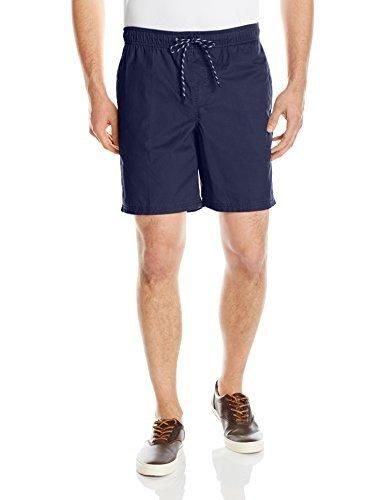 Amazon Essentials Men's Drawstring Walk Short Navy Large