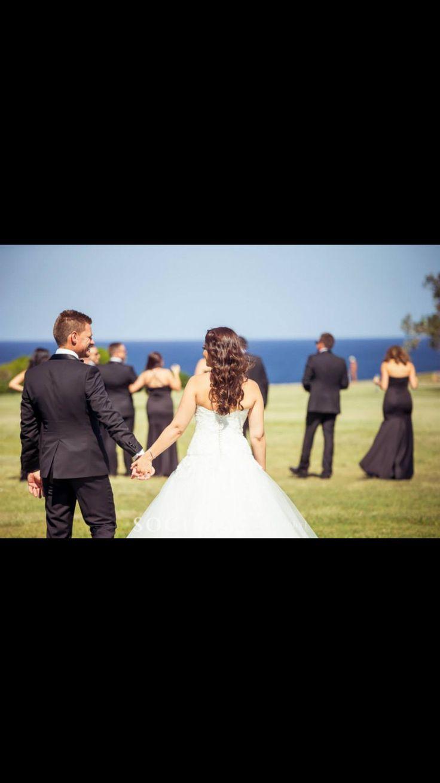 Natural bridal shots