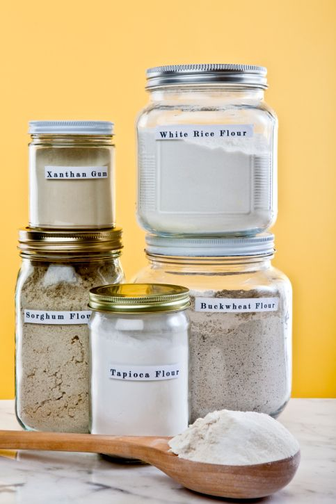 Gluten-free baking expert Laurie Sadowski shares insider tips in Flour Power in our Fall 2013 issue. Here are some of her favorite homemade gluten-free flour blend recipes in larger batches to keep on hand. / Wholesome Foodie <3