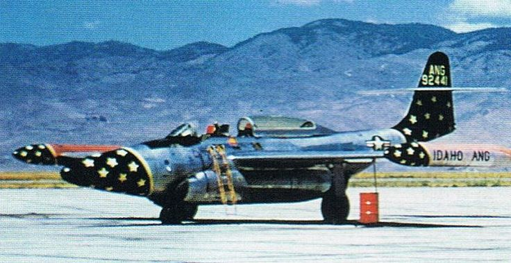 Northrop F-89 Scorpion. 1,050 total Scorpions were poduced, in five different models. F-89B s/n 49-2441.
