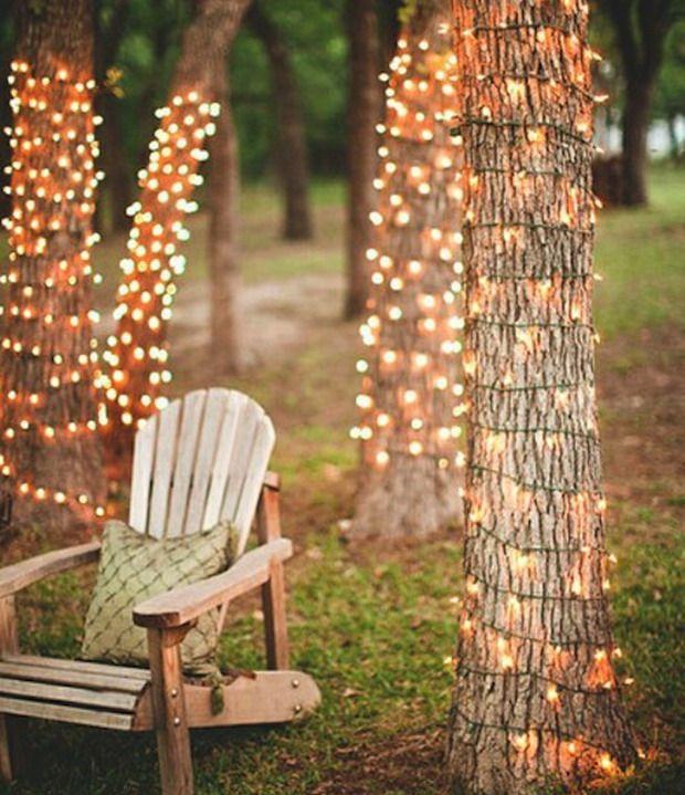 Tuinfeestje verlichting