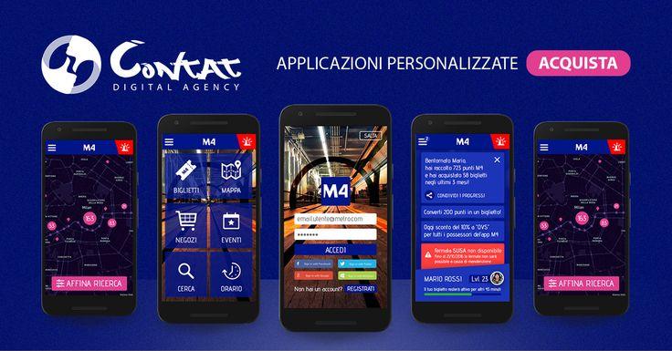 Scopri come è facile creare la tua app Android e iOS Realizziamo applicazioni multipiattaforma su misura.    Che sia un ristoratore, un commerciante, un negozio, un editore o un'azienda, qualsiasi sia la tua attività, la CONTAT dispone degli strumenti giusti per sviluppare la tua idea e facilitare la transizione nel mondo mobile e web. Siamo in grado di sviluppare ogni tipo di progetto, come: app menu, app riviste, app booking, app prenotazione, app illustrative, app ecommerce, app tra…