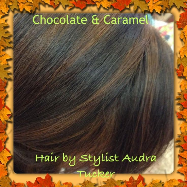 Chocolate Caramel Hair Color | Chocolate Low Lights & Caramel High Lights. Two of my favorite hair ...