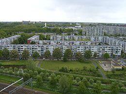 Utrecht, Overvecht - where my brother was born