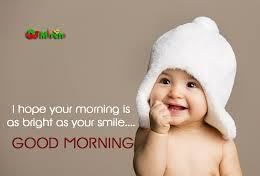 Cute Good Morning Baby Images Card