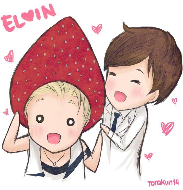 U-Kiss Elvin! Eli and Kevin