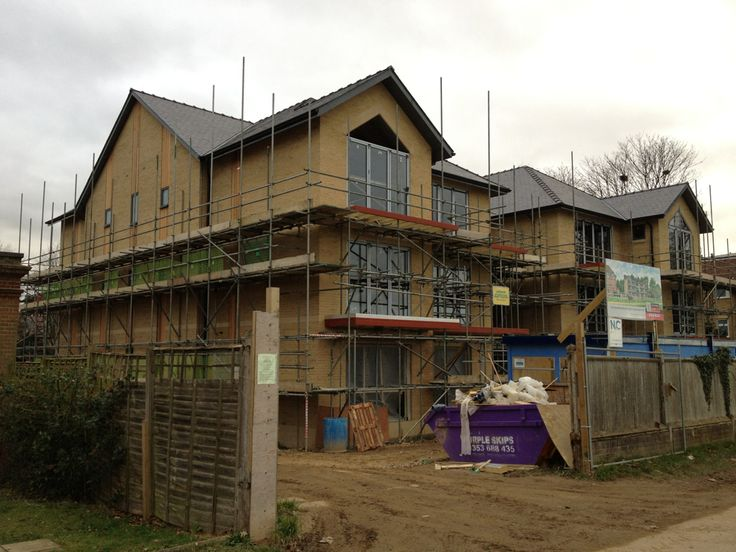 Six 1800sq ft apartments overlooking Newmarket Heath. Currently under construction by Godfrey and Hicks Builders. Will update with further photographs soon.