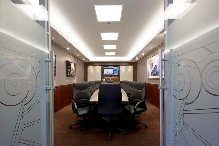 Boardroom - Equipped with Video-Conferencing, Teleconferencing, Whiteboards and Projector with drop down projector screen