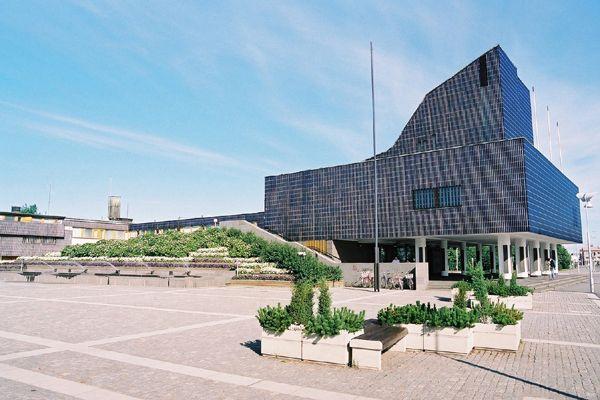 セイナヨキの市庁舎 Town Hall 1960~65 A.AALTO / Seinajoki Finland ...