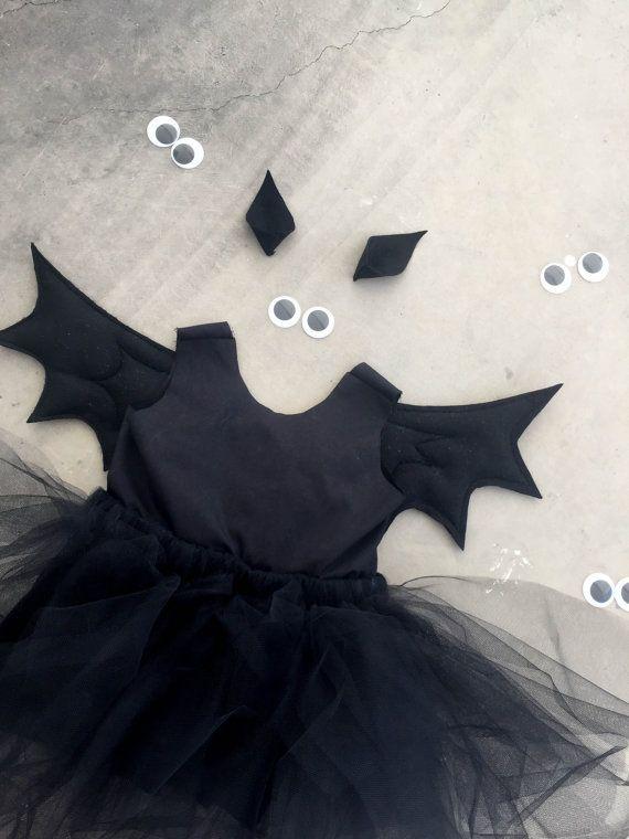 Costume girls Bat scary costume size 6M size 12M size 18M size