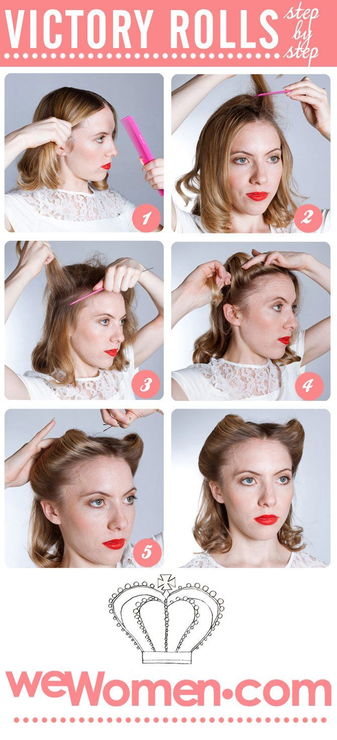 17 1950s Hairstyles Tutorial Website To Try Vintage Hairstyles For Long Hair Retro Curls Curls For Long Hair