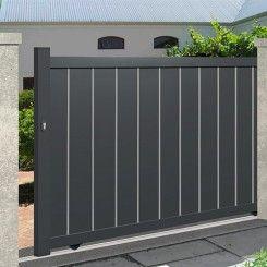Aluminium sliding gate EMALU NICE