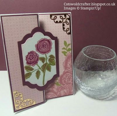 Cotswold Crafter: Your Front Fold Challenge cards