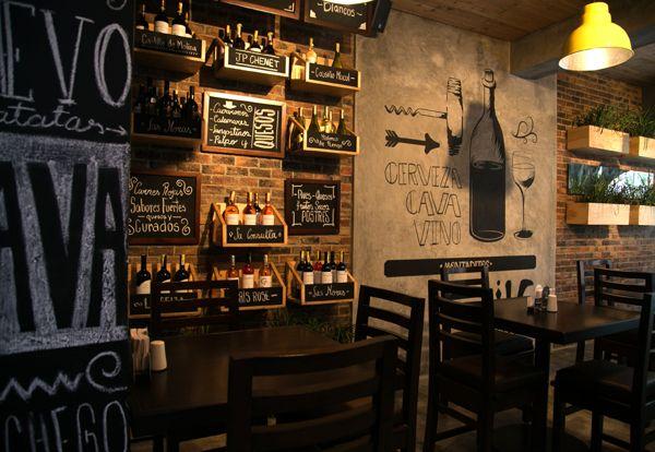 Restaurante MONTADITOS (Laureles, Medellín) by Plasma Diseño , via Behance