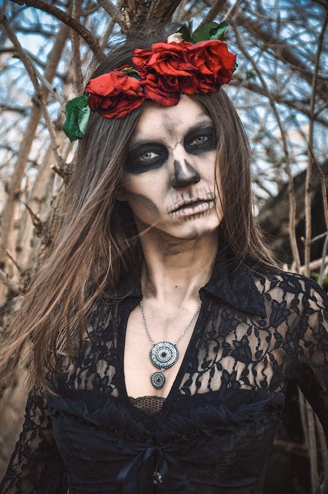 Модель Александра Иванченко http://vk.com/id_alohaoi Фото - Рыжая Кошка https://m.vk.com/id.house #halloween  #girl #photo #fashion #costumes #flowers #inspiration #color #Dress #Model #photostudio #MUAH #makeup #hairstyle #portrait #gothic #gothicgirl  #Dark #Beauty