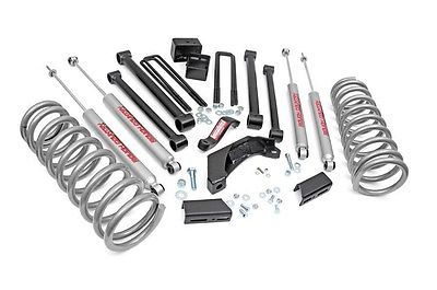 """94-01 Dodge 1500 4WD 5"""" Rough Country Series II Lift Kit with shocks"""