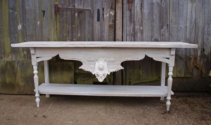 Moth Interiors Our tables are based on french restaurant serving tables using reclaimed timbers and original 19th century french carvings