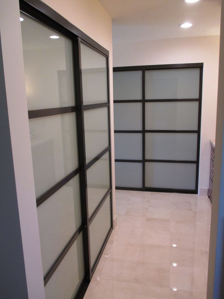 109 Best 2 Panels 2tracks Aluminum Frame Sliding Closet