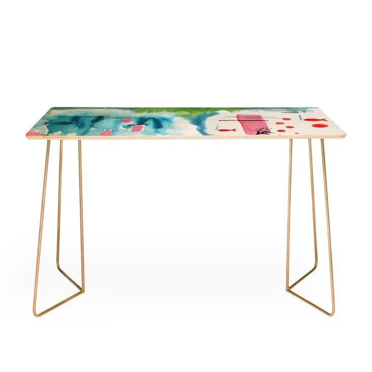 Ginette Fine Art Bubble Gum Tropics Desk | DENY Designs Home Accessories