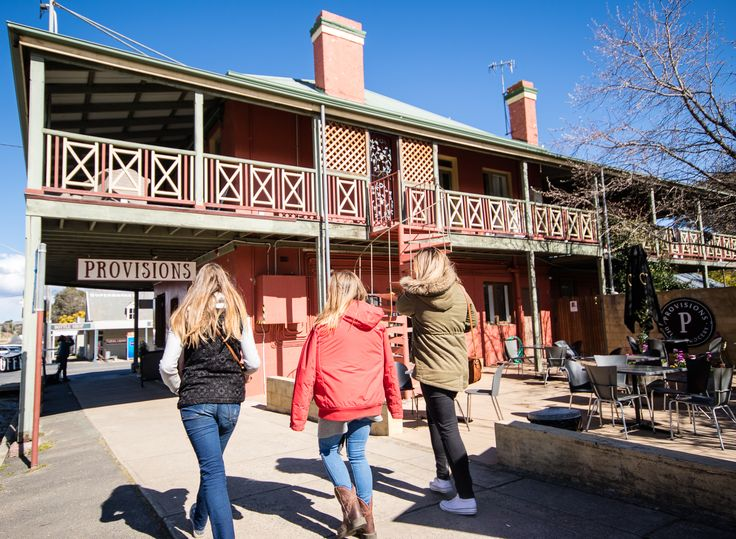 Just around the corner of Garanvale Woolshed is the historical town of Braidwood...