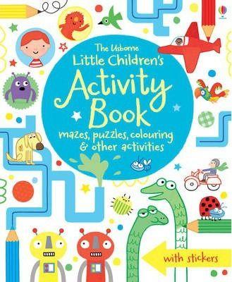 The Usborne Little Children's Activity Book