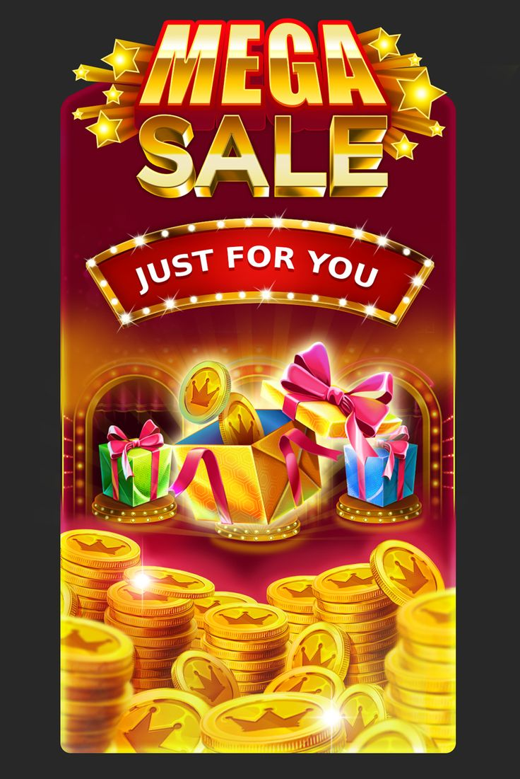Graphic design of promotional screen for online casinos. http://artforgame.com/