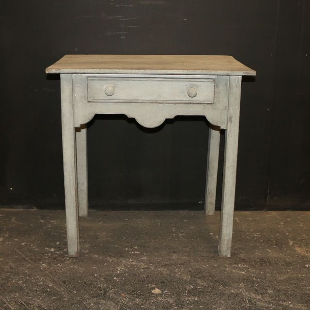 Wonderful Painted Lamp Table Small 19th C Painted Lamp Table. 1850   See More At: