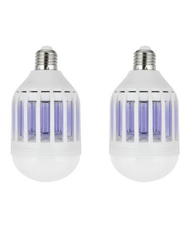 Love this 2-in-1 Mosquito Zapper & LED Light - Set of Two on #zulily! #zulilyfinds