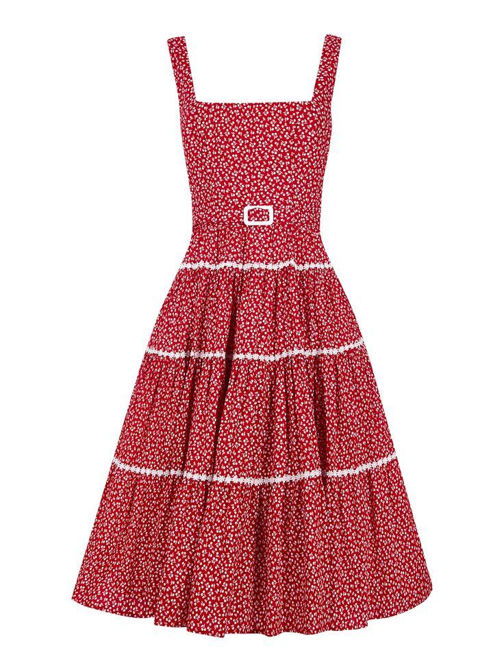 Aida Zak Erina Flared Dress 1