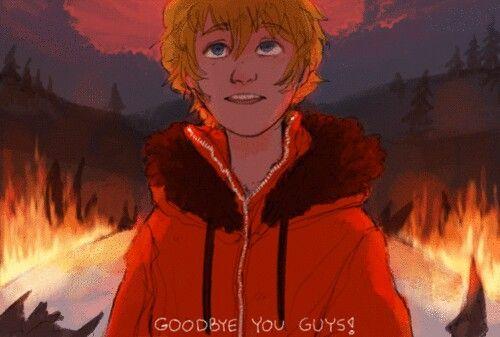 "Kenny (kenneth) McCormic anime South park ""goodbye"" pt 2"