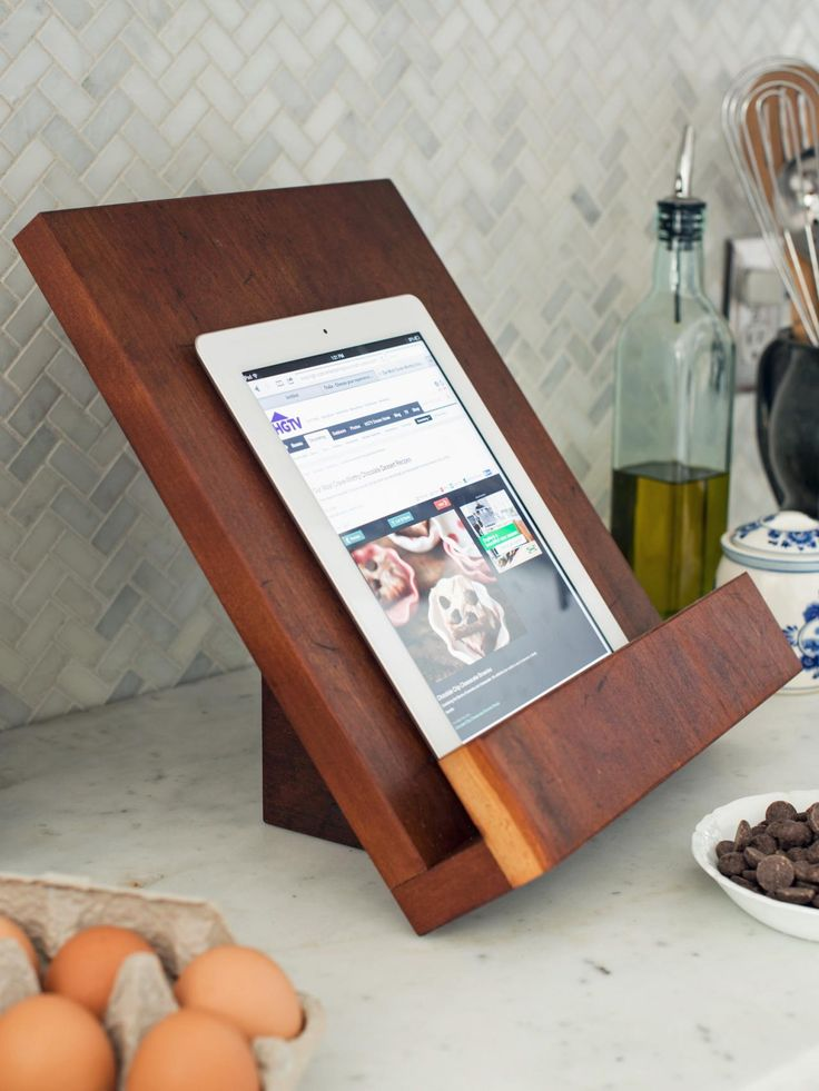 Awesome This Cookbook Stand Was Designed To Hold Most Cookbooks As Well As A Tablet,  But