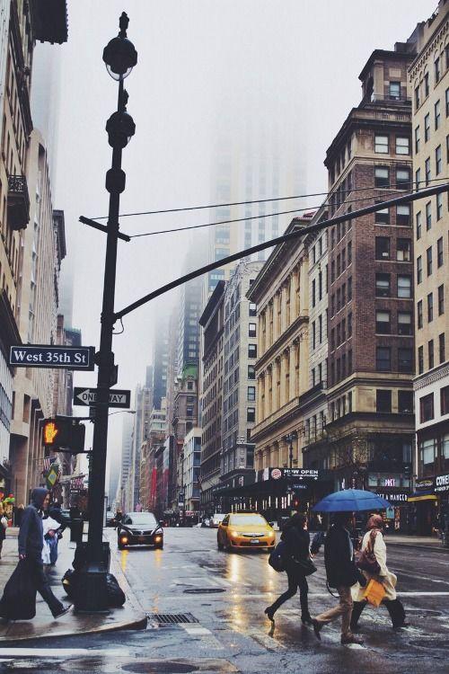 Rainy NYC.