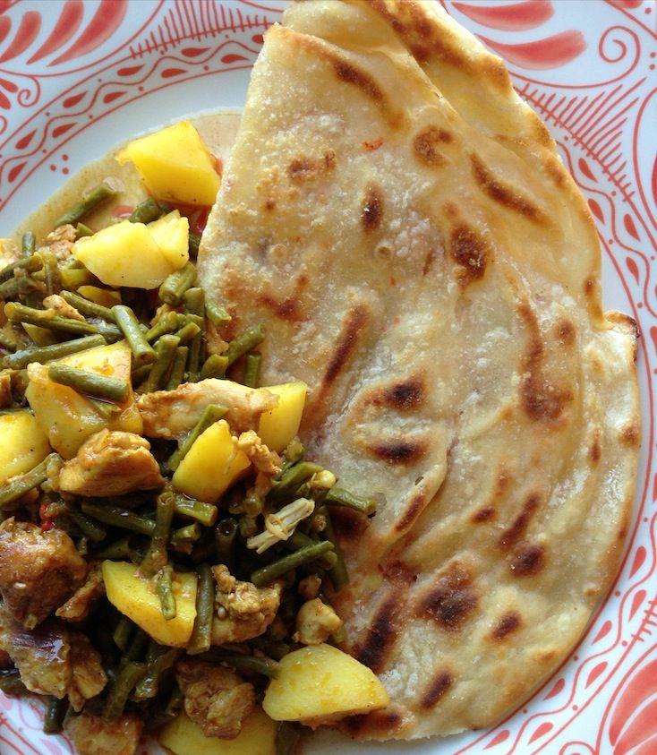 Foodblogswap: Roti kip recept van Kay