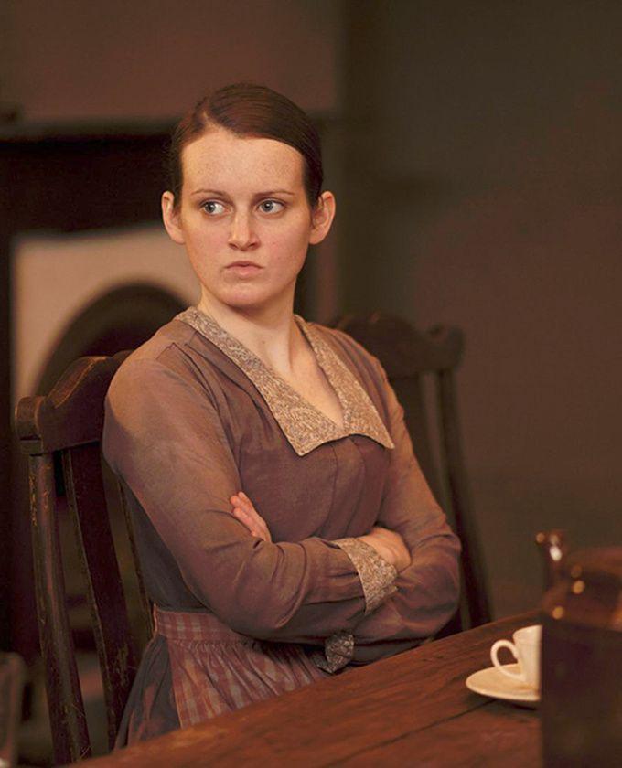 Sophie McShera  Daisy Mason  Downton Abbey. She's got that look again!