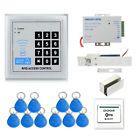 Full RFID 10Key Fobs180kg Electric Drop Lock Door Access Control System Kit - http://electronics.goshoppins.com/home-automation/full-rfid-10key-fobs180kg-electric-drop-lock-door-access-control-system-kit/