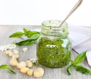 Hey PESTO! A dairy free and easy recipe.