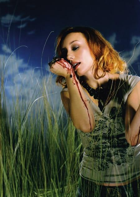 Tori Amos-blackberry stain