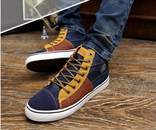men's high top sneakers I love them :D