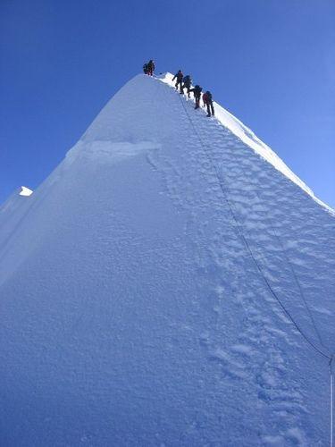 Summit a Nepalese  Trekking Peak.