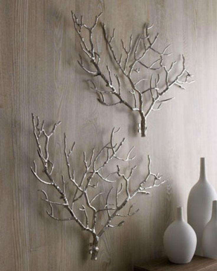 spray bare branches for a rustic DIY Mehr